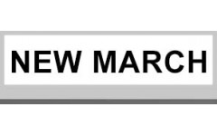 NEW MARCH (0)