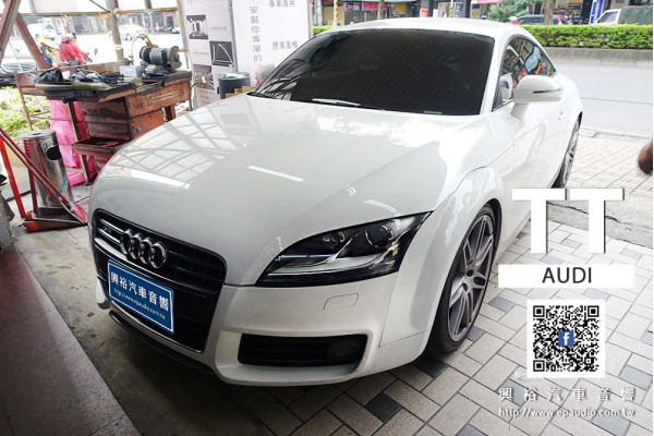 【AUDI TT】安裝 PIONEER AVH-Z5250BT CarPlay螢幕主機
