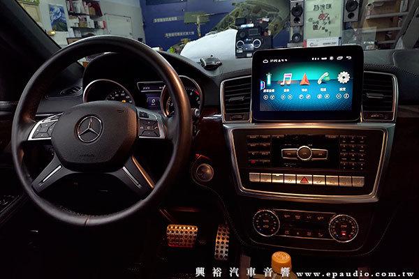 【BENZ 賓士】2015年 ML W166 安裝專用9吋安卓機 | GARMIN GDR E530 行車紀錄器