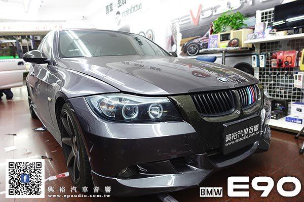 【BMW E90】2010年E90 安裝 專款10.25吋安卓機