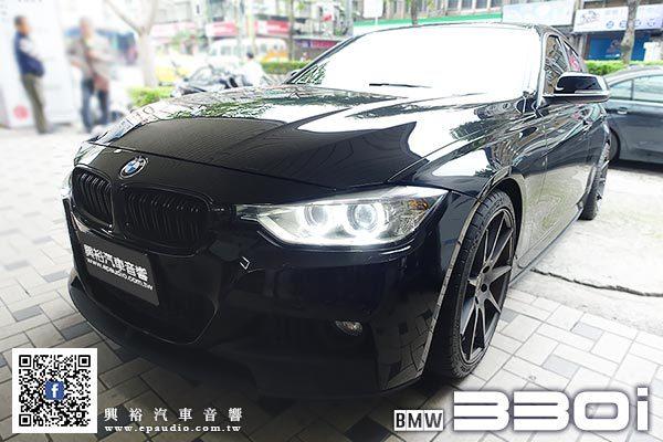 【BMW F30】2012年330i 安裝 專款10.25吋安卓機