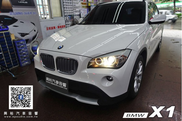 【BMW X1】安裝 X1專用10.25吋安卓機 | 新視覺HM-1080 安卓機專用前後行車紀錄器