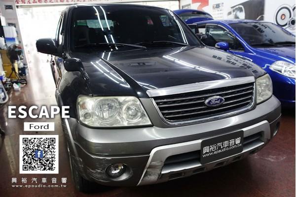【FORD ESCAPE】  安裝 SONY XAV-AX1000 CarPlay螢幕主機