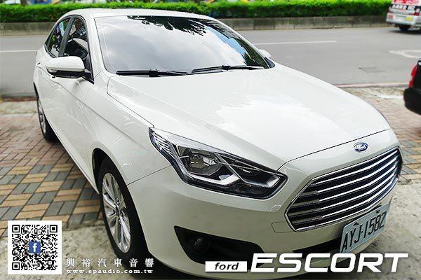 【Ford ESCORT】安裝 JHY M3 專用安卓8吋螢幕主機+倒車