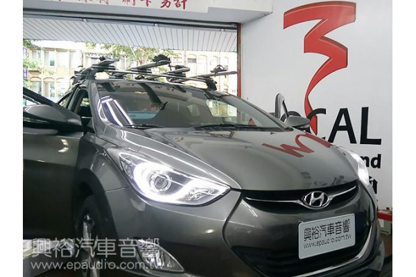 【Hyundai 現代】ELANTRA 安裝 喇叭