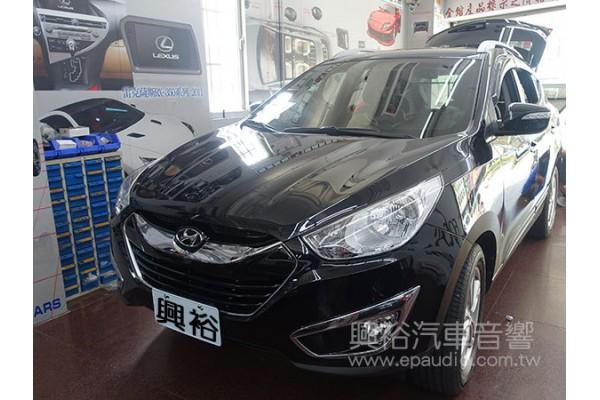 【Hyundai 現代】ix35 安裝 擴大機 | 處理器 | 電容瓶
