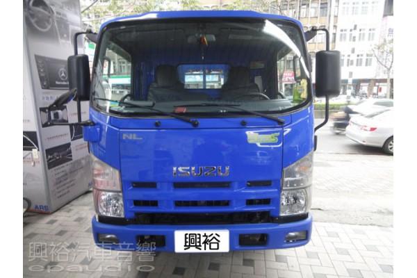 【ISUZU】貨車 安裝 螢幕主機   數位   行車記錄器   倒車