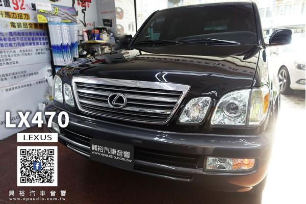 【LEXUS 淩志】LX470 安裝 SONY 6.4吋CarPlay螢幕主機XAV-AX1000
