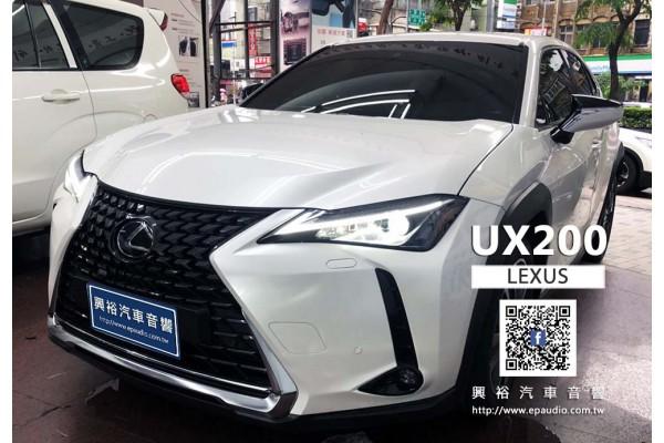 【LEXUS 凌志】2020年 UX200 安裝 UX系列專用10.25吋安卓主機