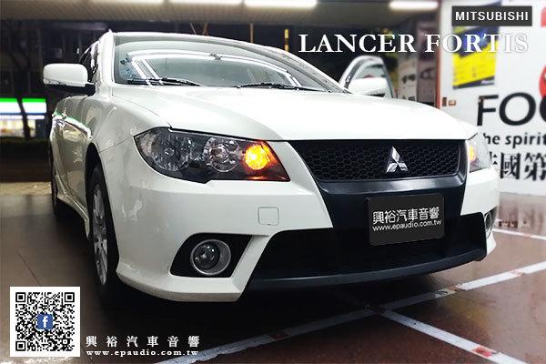 【MITSUBISHI 三菱】LANCER Fortis 安裝 專款10吋安卓機