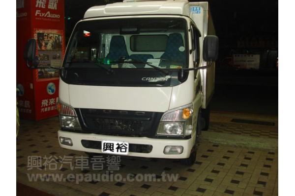 【MITSUBISHI 貨車】安裝 分割行車記錄器   後視鏡螢幕