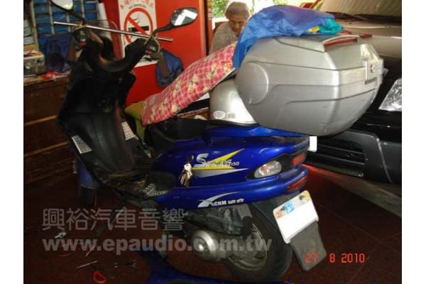 【摩托車】SHINING150 安裝 行車紀錄器