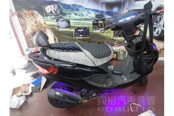 【摩托車】光陽機車 安裝 擴大機   喇叭