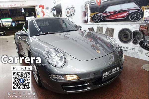 【Porsche 911】Carrera 安裝 Pioneer 6.8吋CarPlay無碟螢幕主機DMH-Z5350BT | 911專用主機框