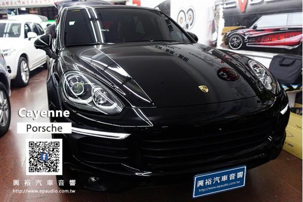 【Porsche CAYENNE】安裝 AudioControl  D61200 六聲道擴大器|LC1800 擴大機 + 德國零點 防震套件|GZCS100MB 喇叭|GZRW8FL超低音喇叭|GZU