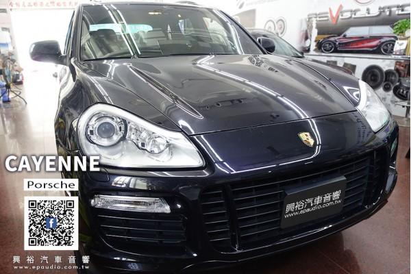 【Porsche 保時捷】2007年CAYENNE 安裝 06~09年Cayenne專用8吋安卓主機