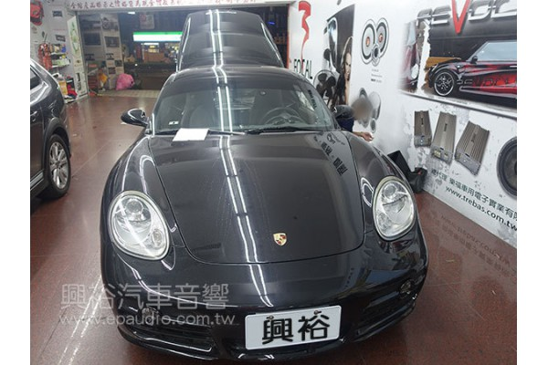【Porsche 保時捷】Cayman S 安裝專款螢幕主機