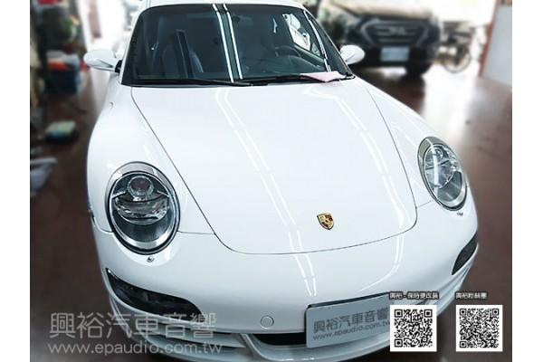 【Porsche 保時捷】Carrera 安裝 專款安卓螢幕主機|倒車鏡頭