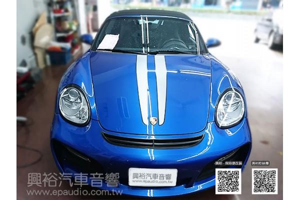 【Porsche 保時捷】911 安裝螢幕主機|倒車鏡頭