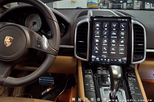 【Porsche 保時捷】Cayenne S 安裝專用10.4吋安卓主機|環景|RiCHVIEW RAB-1 盲點監視系統
