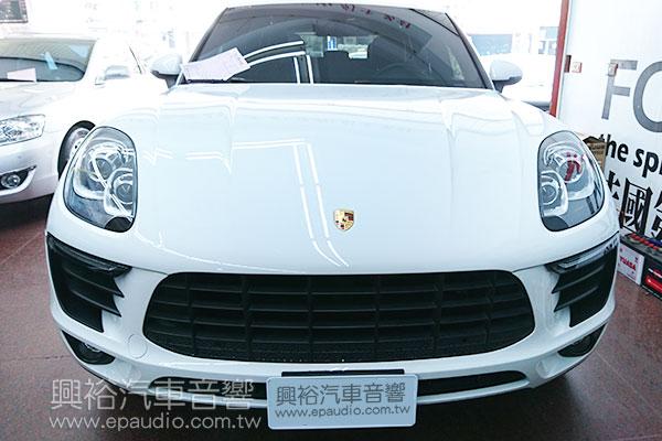 【Porsche 保時捷】Macan 安裝用影音介面