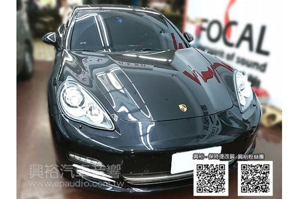 【Porsche 保時捷】Panamera 安裝測速器