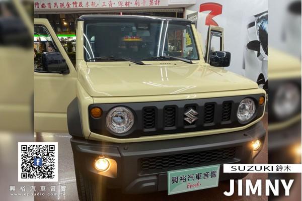 【SUZUKI鈴木】JIMNY 安裝 JHY K77H JIMNY專用9吋安卓機