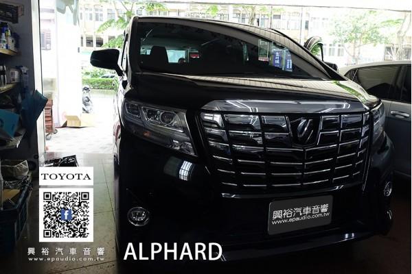 【TOYOTA 豐田】ALPHARD 安裝前後行車紀錄器