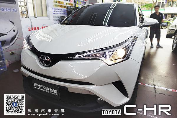 【TOYOTA 豐田】C-HR 安裝 JHY R6 專款安卓聲控多媒體主機
