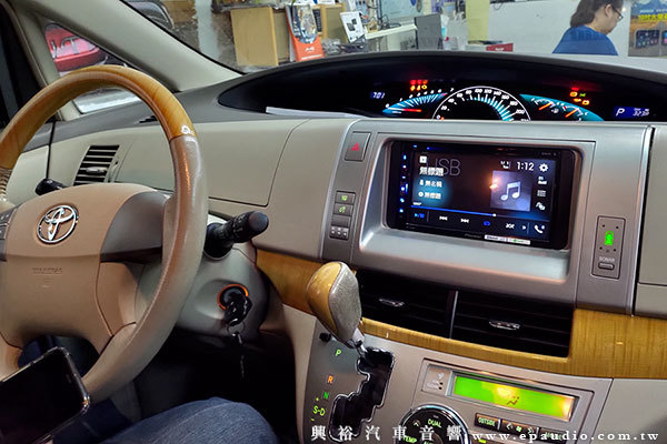 【TOYOTA 豐田】PREVIA 安裝 Pioneer AVH-Z5250BT CarPlay 7吋螢幕主機