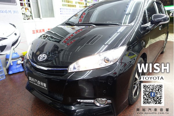 【TOYOTA 豐田】WISH 安裝 CONVOX WISH專用10吋安卓機GT-2