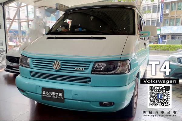 【VW 福斯】T4 安裝 通用型10吋安卓機