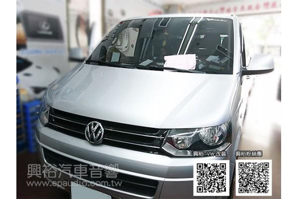 【VW 福斯】T5 安裝安卓系統螢幕主機|行車記錄器|重低音|倒車鏡頭