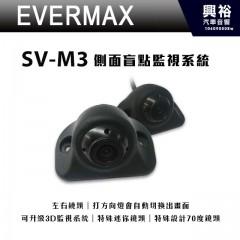 【EVERMAX】SV-M3 側面盲點監視系統*左右鏡頭.特殊迷你鏡頭*正品公司貨