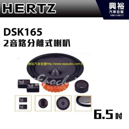 【HERTZ】DSK165 6吋2音路分離式喇叭