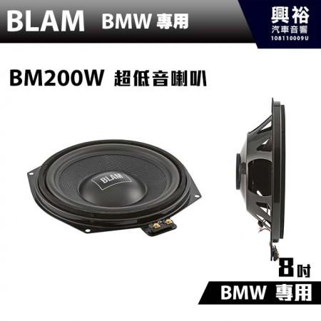 【BLAM】BM 200W BMW 專用超低音喇叭