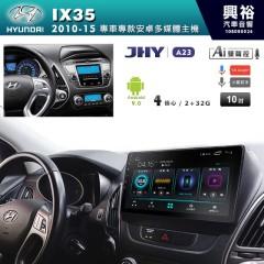 【JHY】2010~15年IX35專用10吋螢幕A23系列安卓機*4核心2+32※倒車選配
