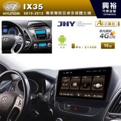 【JHY】2010~15年IX35專用10吋螢幕MS6系列安卓機*8核心2+32※倒車選配
