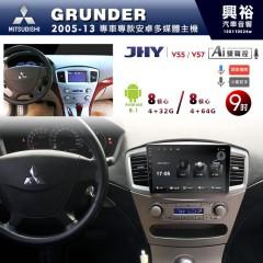 【JHY】2005~13年GRUNDER專用9吋螢幕V55系列安卓機*8核心4+32/4+64G※倒車選配_另售V57