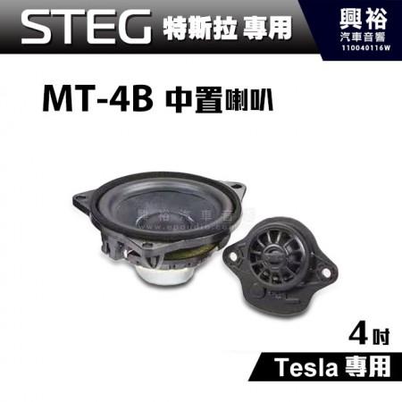 【STEG】Tesla特斯拉專用 4吋中置喇叭MT-4B*公司貨
