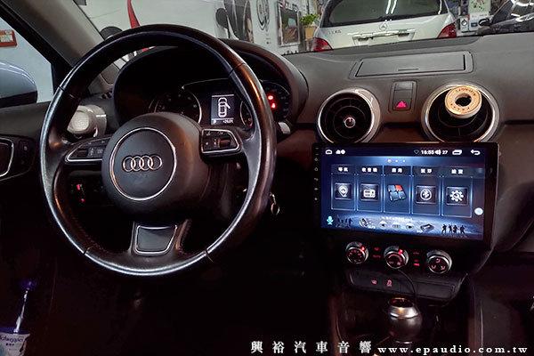 【AUDI A1】 安裝 CONVOX 通用型10吋安卓主機