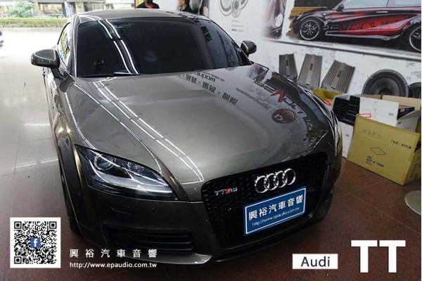 【Audi TT】 安裝 2006~2014年 Audi TT 專用機