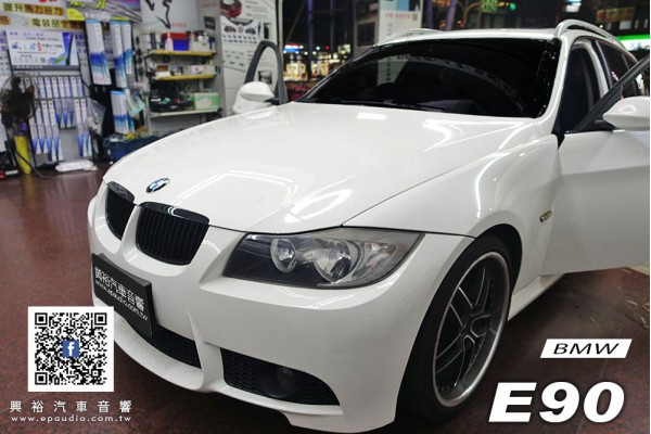 【BMW 3系】E90 安裝 Pioneer先鋒 DMH-ZF9350BT 9吋 可調式藍芽觸控螢幕主機