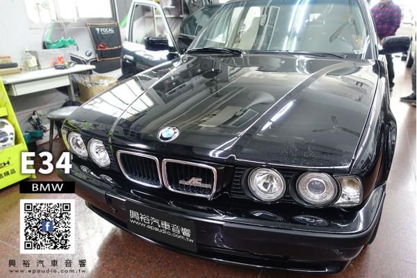 【BMW E34】520 安裝 CONVOX 10吋通用型安卓主機AU-103 |  迷你蝶倒車鏡頭