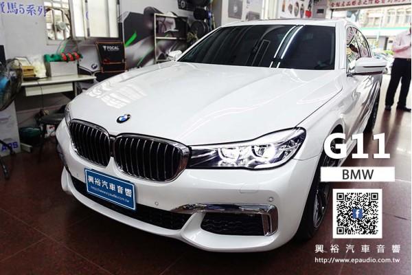 【BMW G11】安裝 RAINBOWIL-C4.2 4吋二音路喇叭 | BMW G11 RSA25 專用行車紀錄器