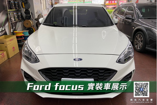 【FORD 福特】FOCUS 安裝 Garmin 66wd 前後行車紀錄器