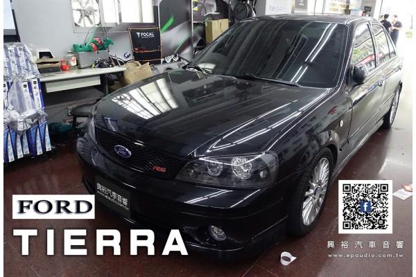 【FORD 福特】 TIERRA 裝 SONY  XAV-AX5000 6.95吋螢幕主機