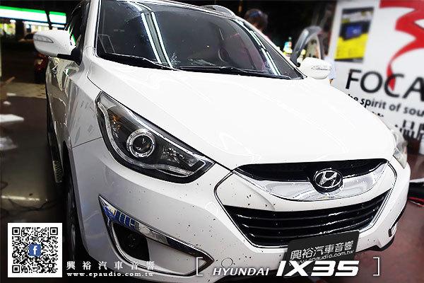 【Hyundai 現代】2015年 ix35 安裝 專用安卓聲控螢幕主機