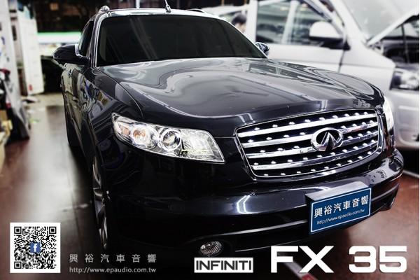【INFINITI FX35】安裝 四路電子後視鏡行車紀錄器