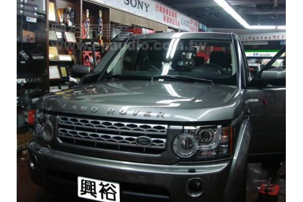 【Land Rover】路華 安裝 八鏡頭分割行車記錄器